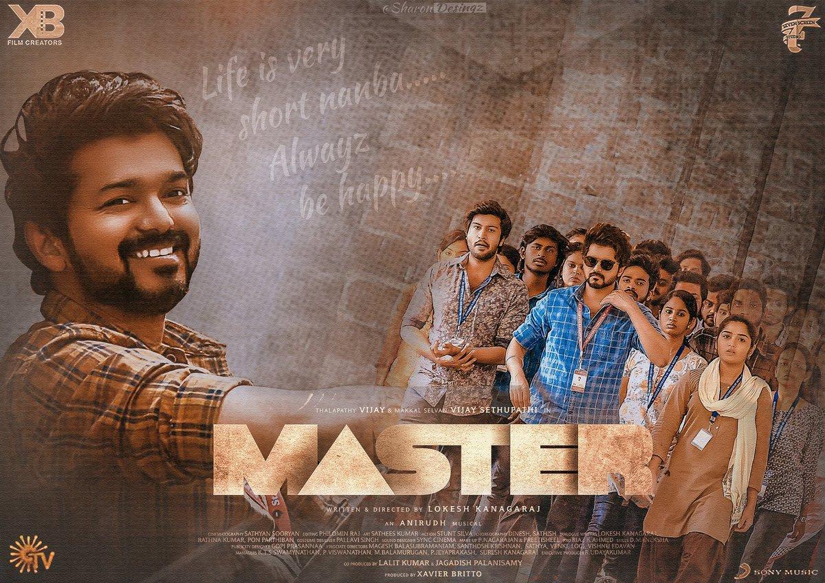 #Master fanmade poster 💥 Sharon designz 🔥 Feedback pit ur comments 🙏 #Thalapathy #master @m_gajan @shynu_mash @actorvijay @Jagadishbliss @imKBRshanthnu @Arunrajakamaraj @ramk8060 @OTFC_Off @Kettavan_Freak @ActorVijayUniv @OnlineVijayFC