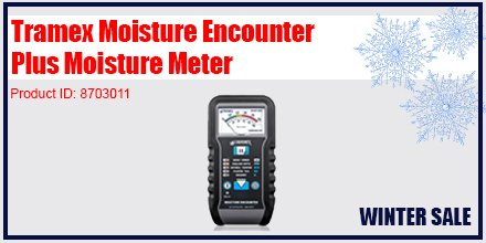 If you need to detect moisture through paint, wallpaper drywall or ceiling tiles, order your on #SALE Tramex #MoistureMeter today: