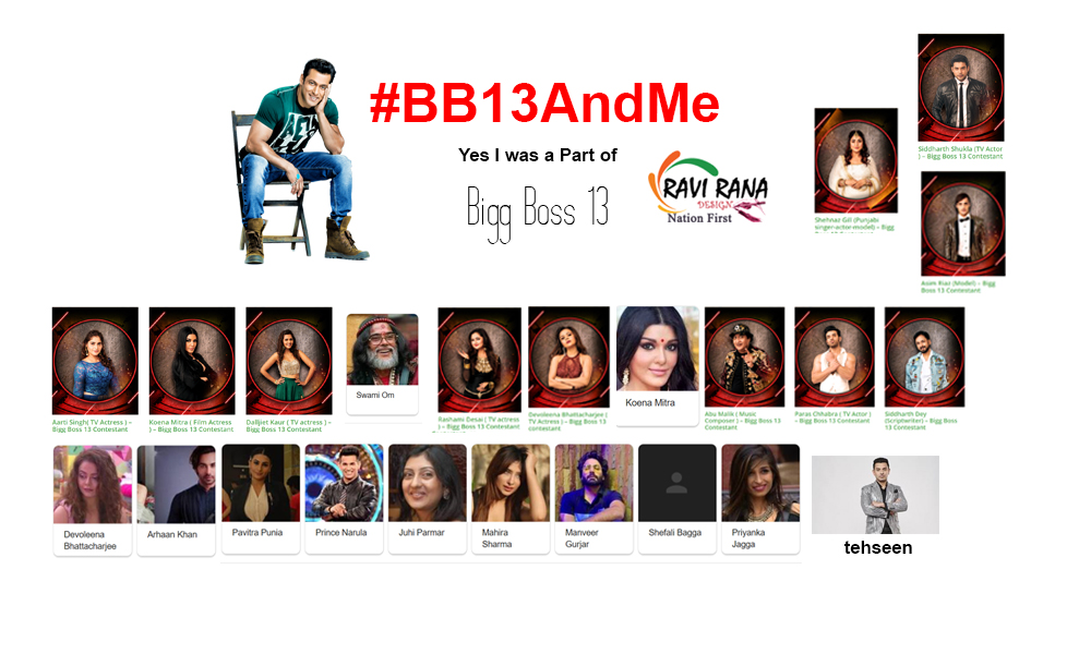 Bigg Boss 13 has been announced as the most successful seasons of all time. #TRP  Congratulations to All the Fans  #AsimRiaz #SidharthShukla #ShehnazGill  This is Dedicated to all the Fans who have made it . Lets Trend #BB13AndMe @BeingSalmanKhan @BiggBoss @ColorsTV its our day!