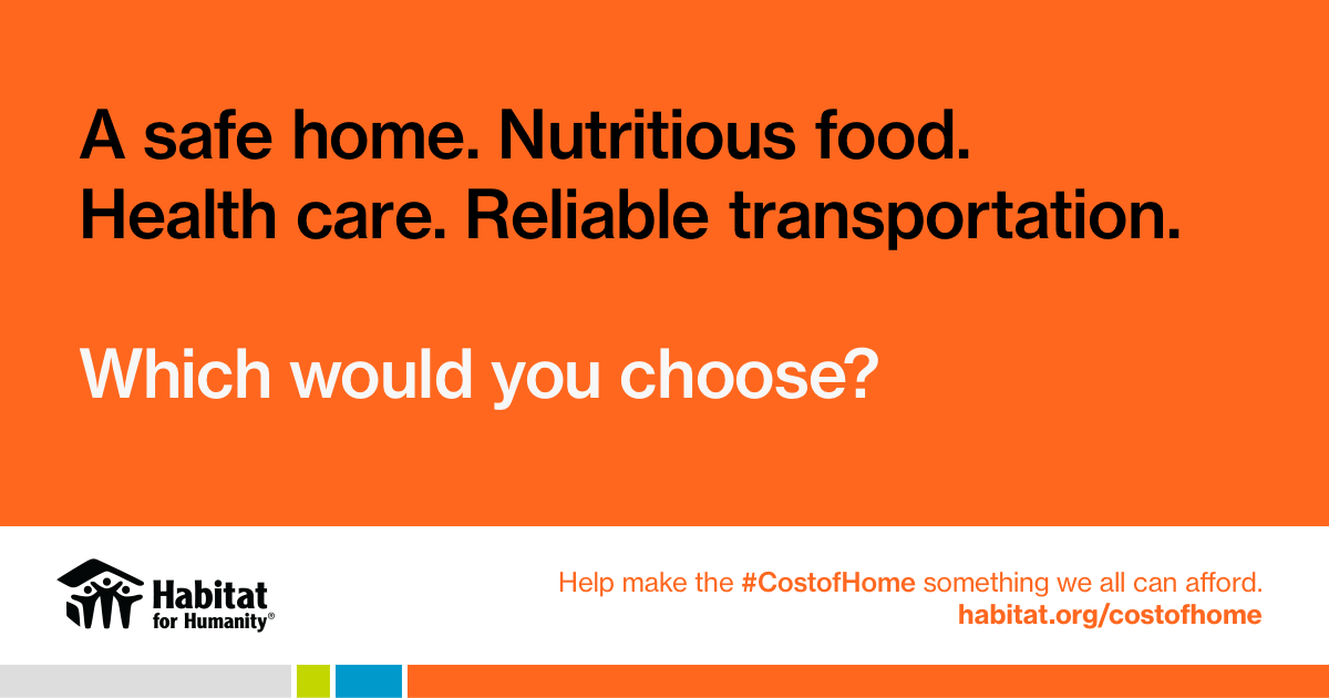 When the #CostOfHome is your family's health, the cost is too high. Join us in urging @LesterHoltNBC, @chucktodd, @HallieJackson, @RalstonReports and @vanessahauc to address #homeaffordability and let all candidates respond during tonight's #DemDebate. #OurHomesOurVotes2020 https://t.co/0M7oD5LptO