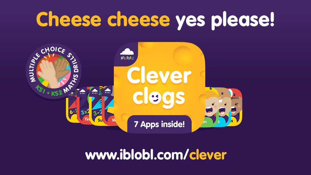 Downloading the complete #Educational #App #Bundle, 🧀 Clever clogs, you will investing in your child's learning journey AND saving money too... 7 #Apps = 7 times the fun!   👉   #WednesdayMotivation #Wednesday #WednesdayThoughts #WednesdayWisdom