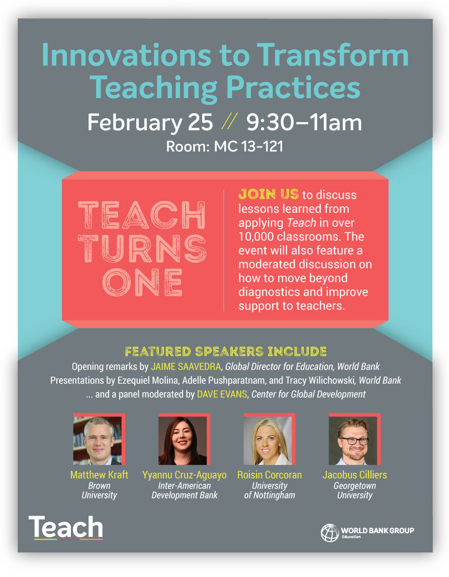 Join us on February 25th for a discussion on how #innovation in #teaching practices can lead to a better future for both #educators and students across the globe! #transformteaching