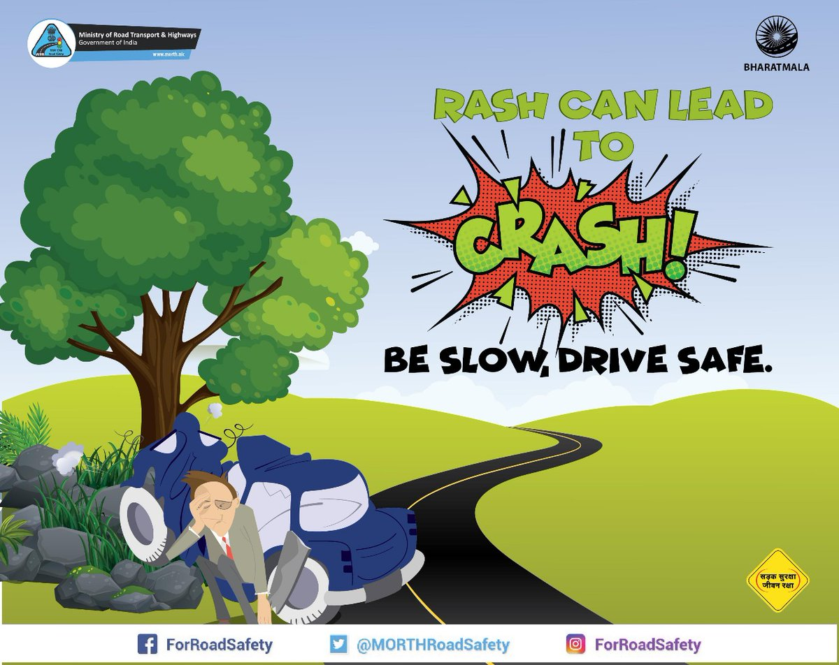 #PLEASE #FOLLOW #TRAFFIC #RULES AND #SAVE #LIVES