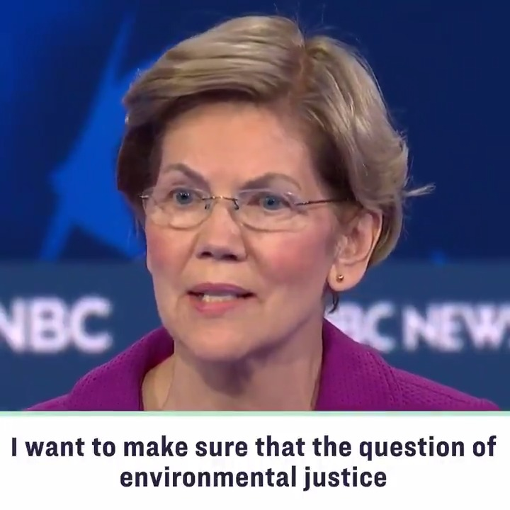 I want to make sure that environmental justice gets more than a passing mention. I have made a commitment to invest a trillion dollars to repair the damage that this nation has permitted to be inflicted on communities of color. We have to own up to our responsibility. #DemDebate https://t.co/ClERfJF2rt