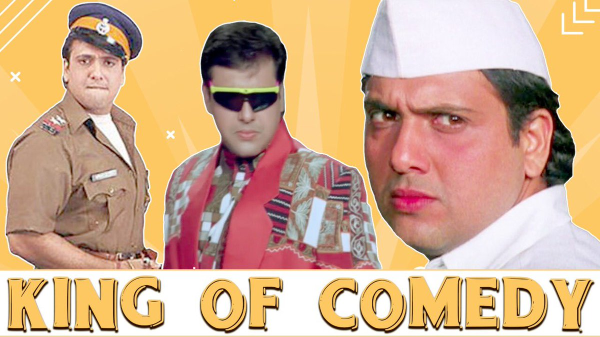 Laughter is the best medicine. Celebrating the king of comedy #Govinda through a compilation of his most hilarious scenes from the following blockbuster movies. @poojafilms    #kingofcomedy #lol #comedy #fun #funny #actor #bollywood #artist