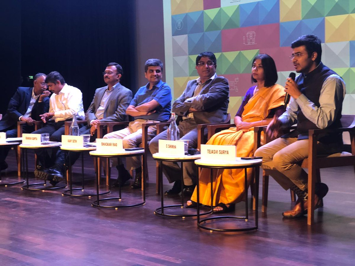 Shri @Tejasvi_Surya, Member of Parliament, South Bangalore shares his support for the #UrbanMobilityLab and his views on why we need more specialists working with government and other stakeholders to make commuting in Bengaluru a better experience. @rmi_india
