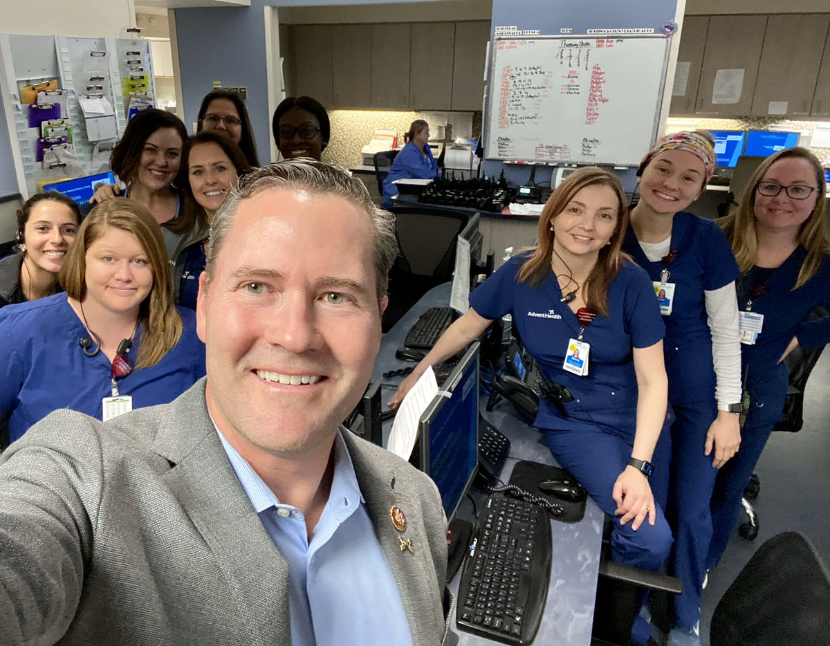 Really enjoyed meeting healthcare professionals at AdventHealth Fish Memorial Hospital in Orange City today.   We discussed drug pricing, healthcare & community outreach.  I'm committed to finding solutions to make healthcare affordable so we can best care for our community!