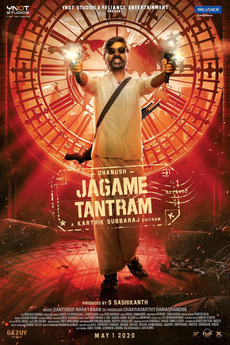 International Don Emerging Soon !!! #JagameThanthiram