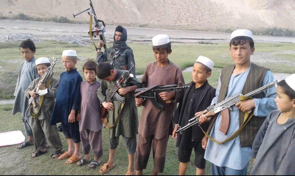 سازمان های حقوق بشری، نهاد های مدنی و ریاست زنان ولایت #بغلان : #طالبان از کودکان منحیث سرباز استفاده مینمایند. #Baghlan #ChildSoldier #Children #HumanRights