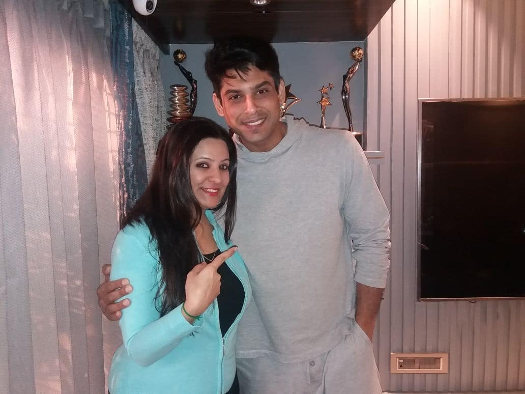 Sidharth Shukla With Producer Shruti Sharma   Meeting About Some New Projects  ???  #BB13 #BiggBossFinale