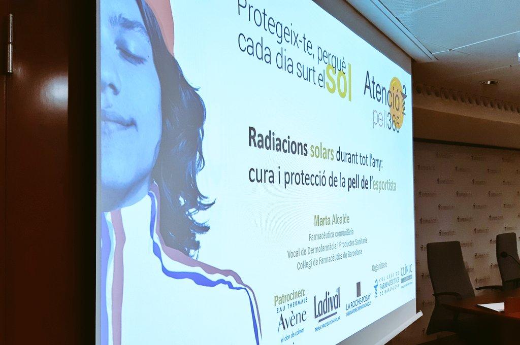 test Twitter Media - Comença la sessió informativa de la 3a onada de la campanya #AtencióPell365☀️ centrada en situacions de protecció solar menys evidents o relacionades amb l'esport🏃🏃 amb el dermatòleg @MaganaOriol , el meteoròleg @TomasMolinaB, i @MartaAlcalde1 , vocal de Dermofarmàcia del COFB. https://t.co/2rtBceurPZ