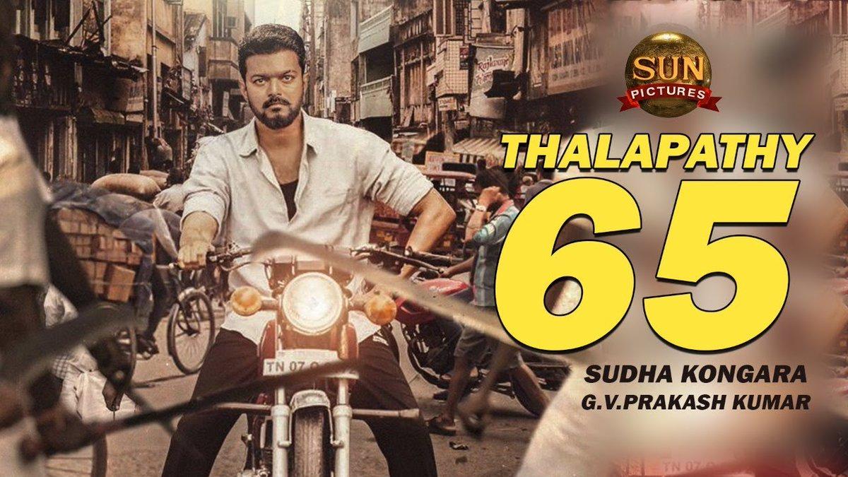 BIG #BREAKING: #Vijay - #SudhaKongara Confirmed | Backstory Revealed | #Thalapathy65