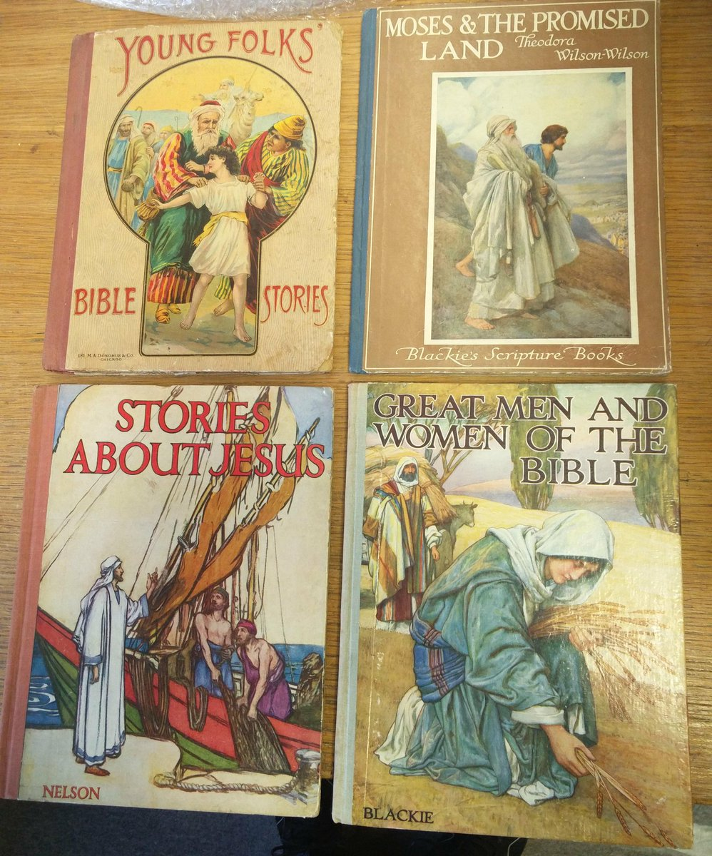 Ca. 1900 #religious #books for #children...all $12 or less... #Jesus #Moses #Biblestories