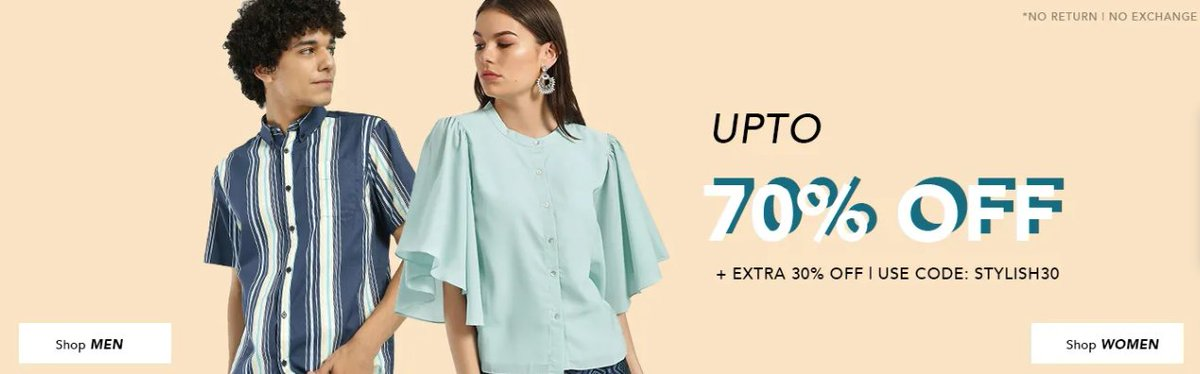 Koovs Clearance sale: Upto 70% off + Extra 30% off Coupon code: STYLISH30   #koovs #fashionblogger #clothing #womenswear #menswear #mensfashion #womensfashion #sale #Offers #discount #clearance #onlineshopping