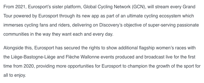 test Twitter Media - Couldn't be prouder of our GCN mention in Eurosport's press release today.   https://t.co/Zmk3B25vSp https://t.co/CKpChRURoQ