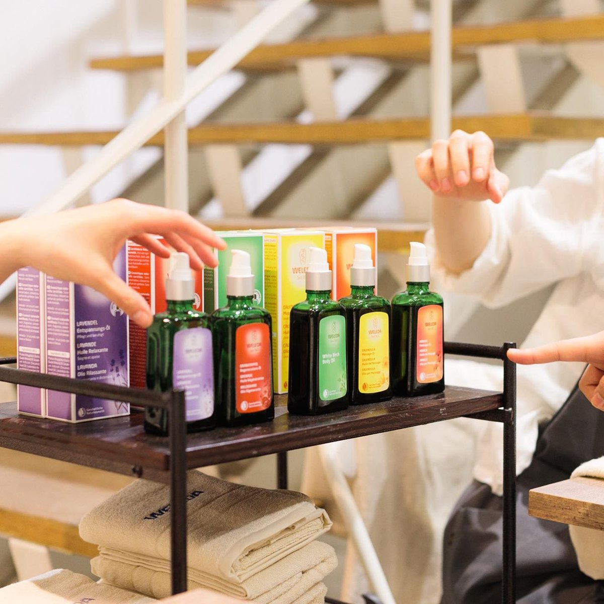 Its #WEEKEND! Select your desired Weleda Oil for a nice relaxing body massage :)  #weledaoils #weledauae #uae #uaepharmacy #almanarapharmacy #deltamedicalest #organic #nature #organicproducts #relax