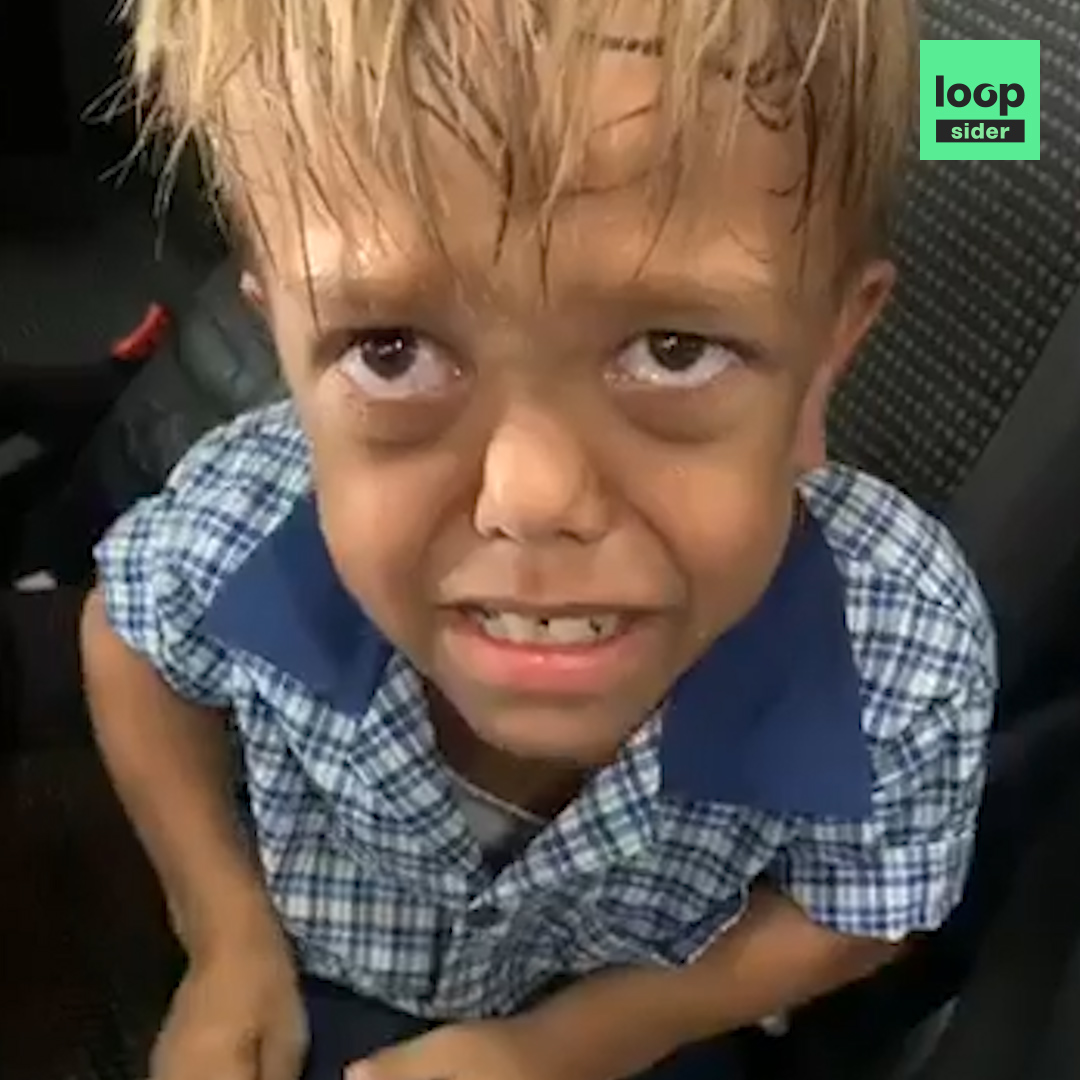 C'est une des vidéos les plus bouleversantes publiées sur Loopsider. Ce garçon de 9 ans, harcelé à l'école parce qu'atteint de nanisme, demande un couteau pour se suicider. Sa mère veut alerter les parents et les enfants qui harcèlent. #WeStandWithQuaden