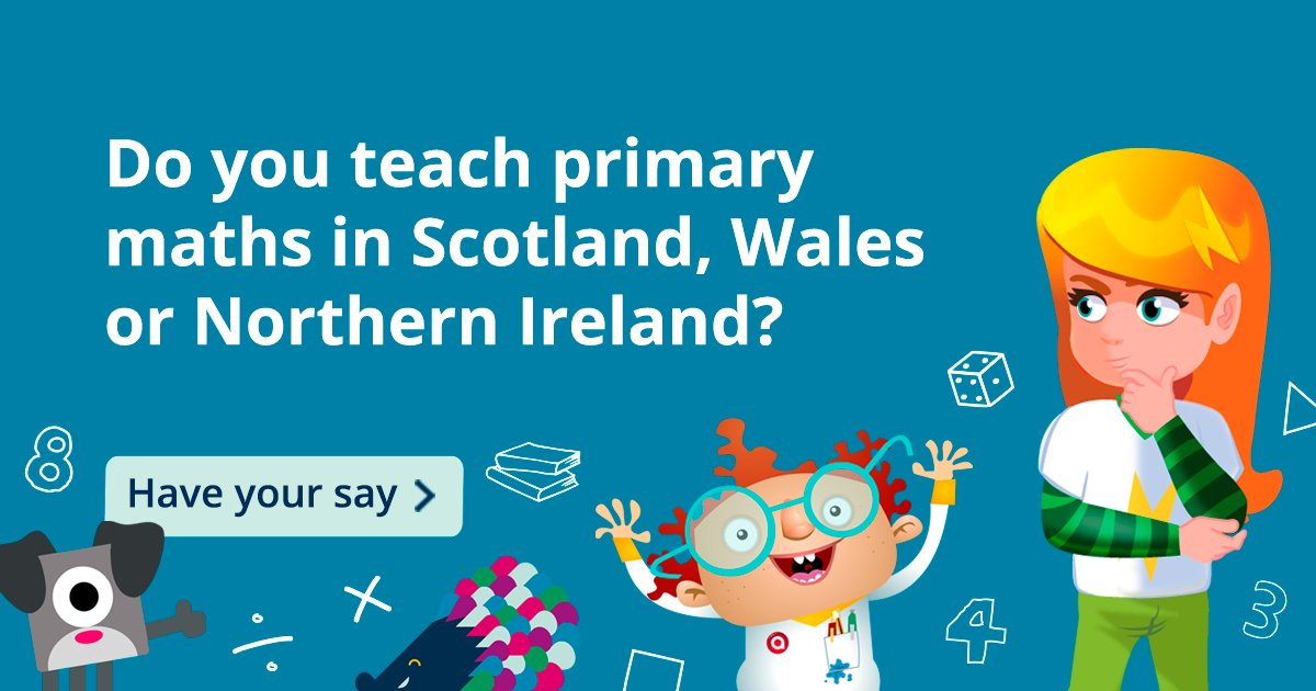 Are you a #Primary #Maths teacher in Scotland, Wales or Northern Ireland? We need you!  Have your say on primary maths in our short survey: