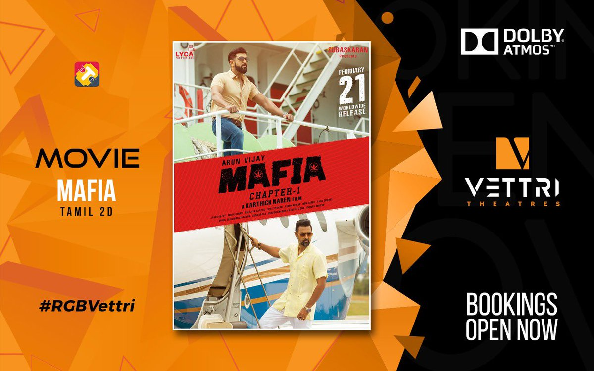 #Mafia in #RGBVettri from tomorrow...