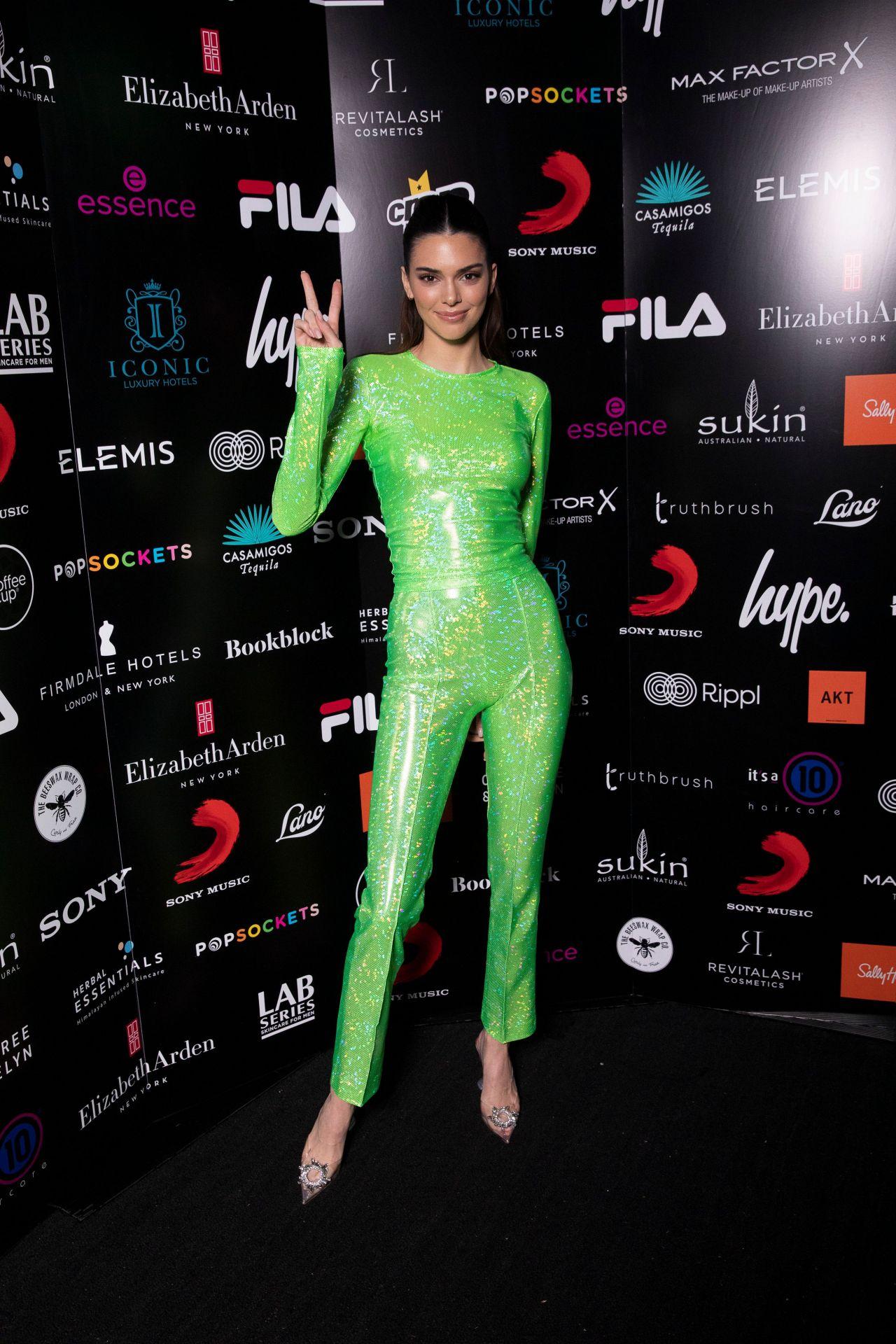 Kendall Jenner ✌️💚 #KendallJenner #BritAwards #BritAwards2020 https://t.co/TXaSMcxxcs