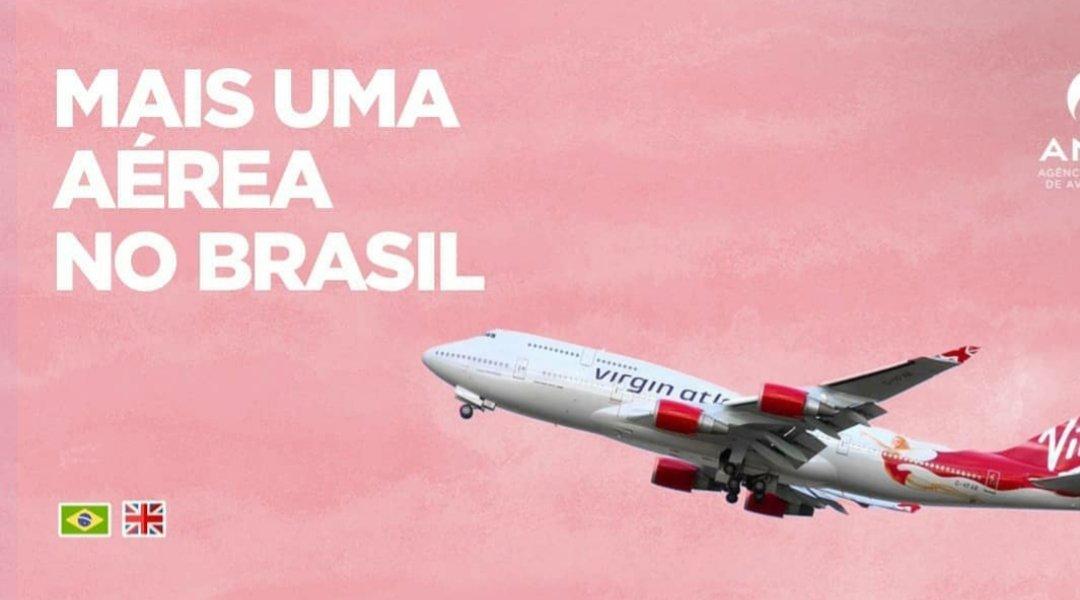 Mais 6 companhias aéreas já realizam rotas internacionais, reduzindo cerca de 30% o valor das passagens nestes trechos saindo do Brasil. Duas empresas pretendem para o 2° semestre o serviço doméstico. E agora, a @VirginAtlantic também anuncia operações iniciais. @aviacaodobrasil