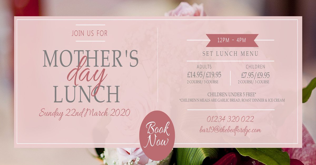 test Twitter Media - We are now taking bookings for Mother's Day on Sunday 22nd March. Book your table now! https://t.co/D4ChpnFacj