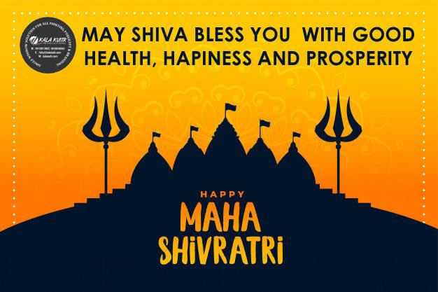 #MahaShivaratri wishes to everyone. May Lord Shiva bless us all 🙏🙏🙏