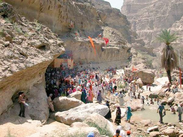 Historical Hinglaj Mata (Nani Mandar). We will free visa for #Hindus from #India visitors temples after #BalochistanIndependence #Mahashivratri