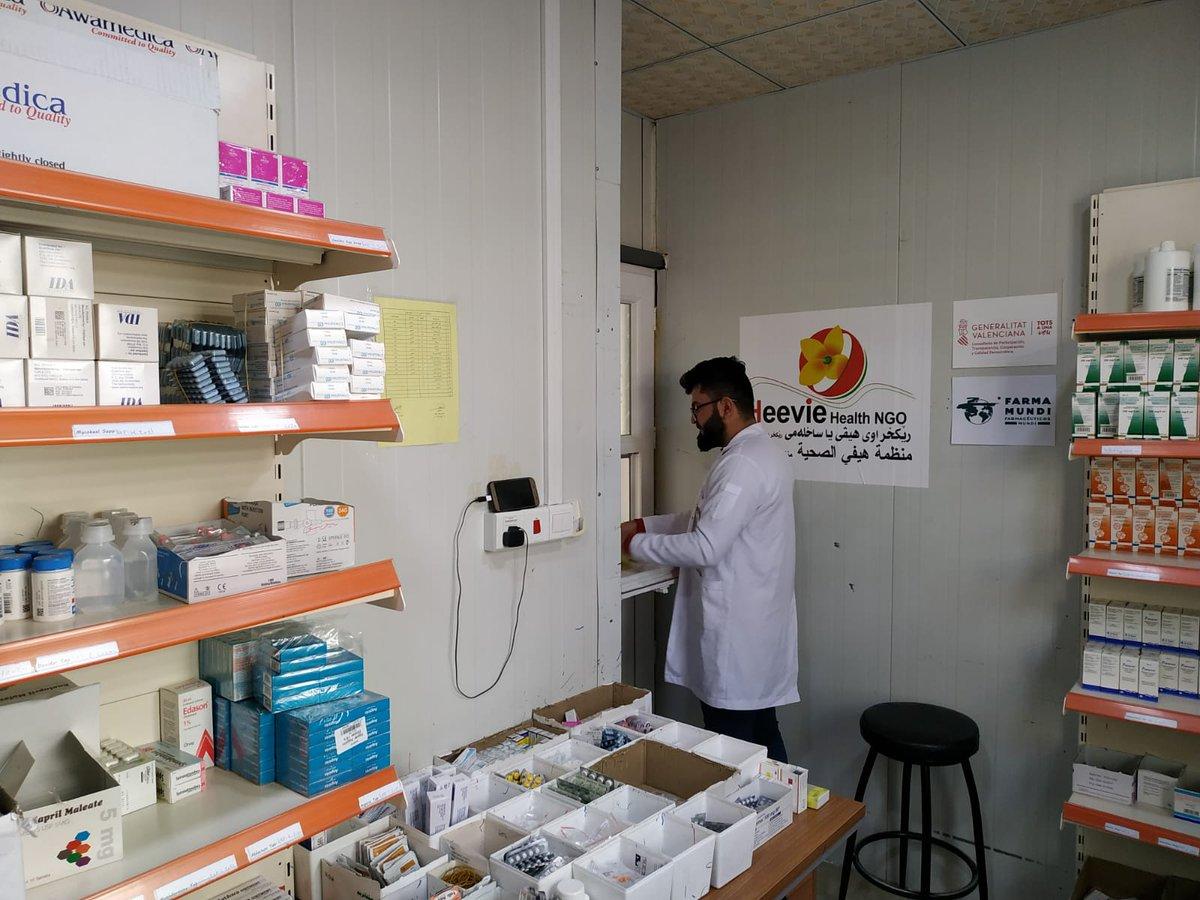 test Twitter Media - El Fons d'Emergències de @farmamundi, del qual forma part el @COFTarragona dota de medicaments i material sanitari a tres camps de desplaçats d'Iraq. https://t.co/koOsjoJpY3 https://t.co/4j2YMB2QTa