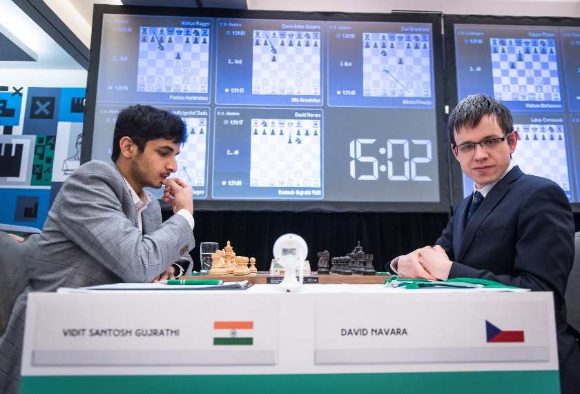 test Twitter Media - Navara's incredible turnaround win means Vidit hasn't won the Prague Masters yet and there's everything to play for in the final round! https://t.co/fcyr7s3ENA  #c24live #picf2020 https://t.co/NqlTRldgVa