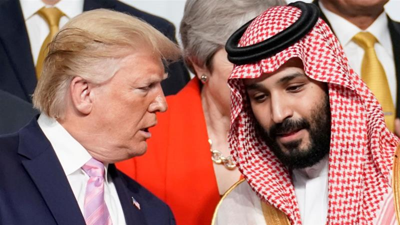 It's been weeks since the revelation, in an FBI report, that Trump secretly met with Mohammed bin Salman—the man who ordered the murder of a Washington Post journalist—a week before the 2016 election, and I still haven't heard it talked about on TV or in print. Which is *insane*.