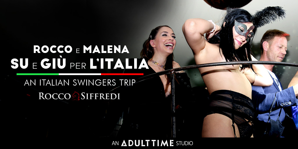 New!  Rocco e Malena su e giu per litalia // Rocco and Malena travelling through Italy // Rocco et Malena voyagent à travers l'Italie  Watch as they visit swingers clubs all through the beautiful country (and people) of Italy!