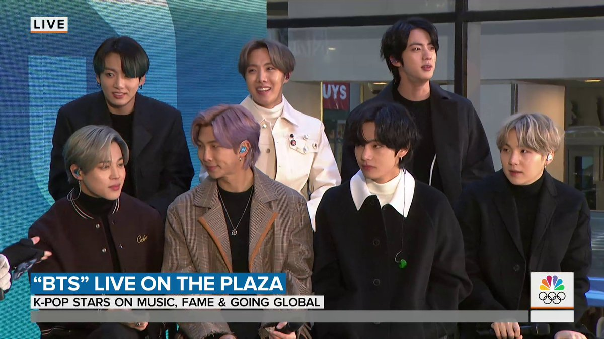 Watch our full interview with #BTS! #BTSTODAY