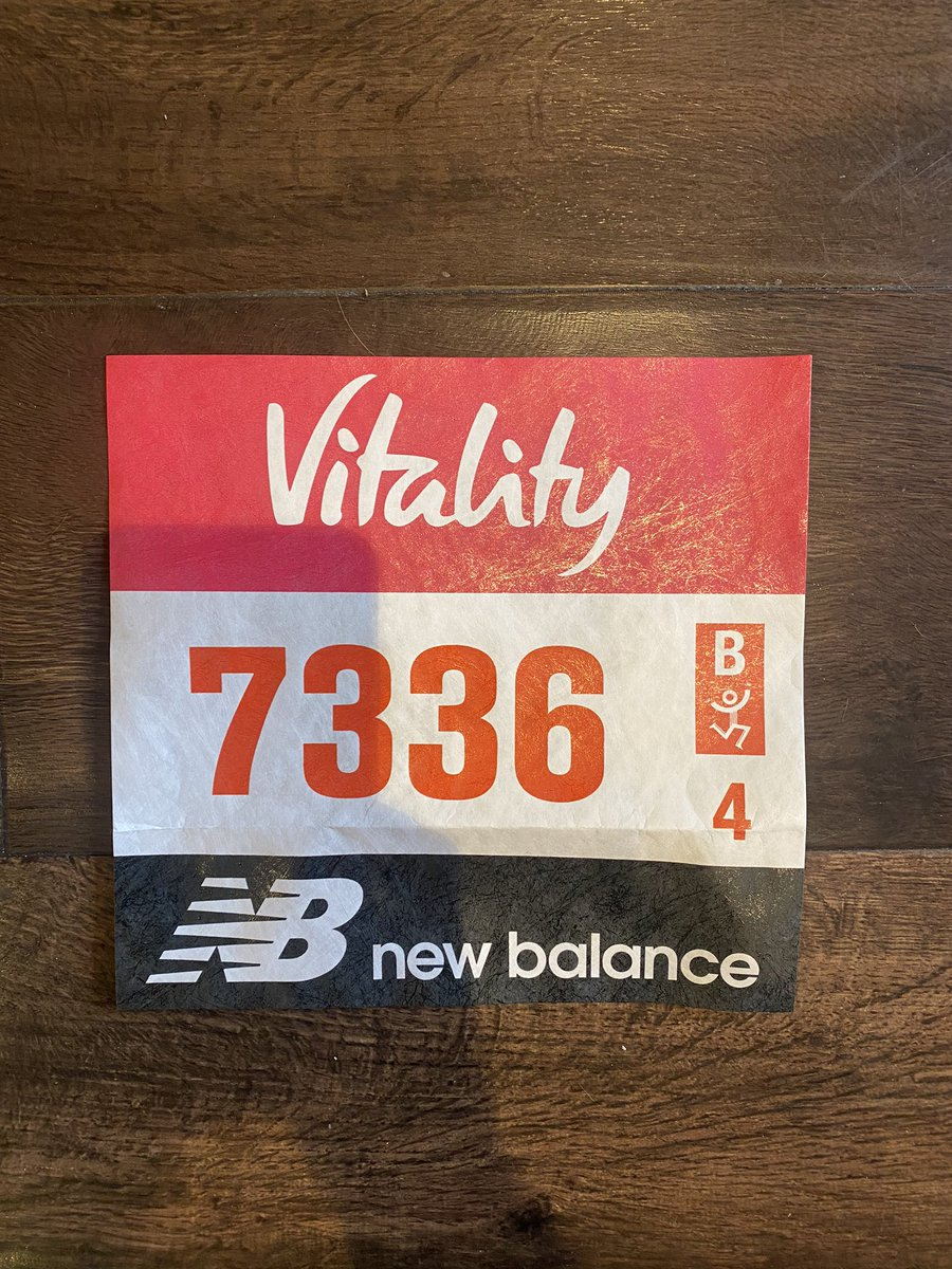 Arrived Today  My @OfficialBigHalf Running Number  7336 not 007   9 Days To #BigHalf As Part Of @LondonMarathon Training  Raising £40k For @mencap_charity Me & My Body Project #SponsorMeBitches    #LondonMarathon #The40thRace #Heaven40 #MovedByLondon #LLHM