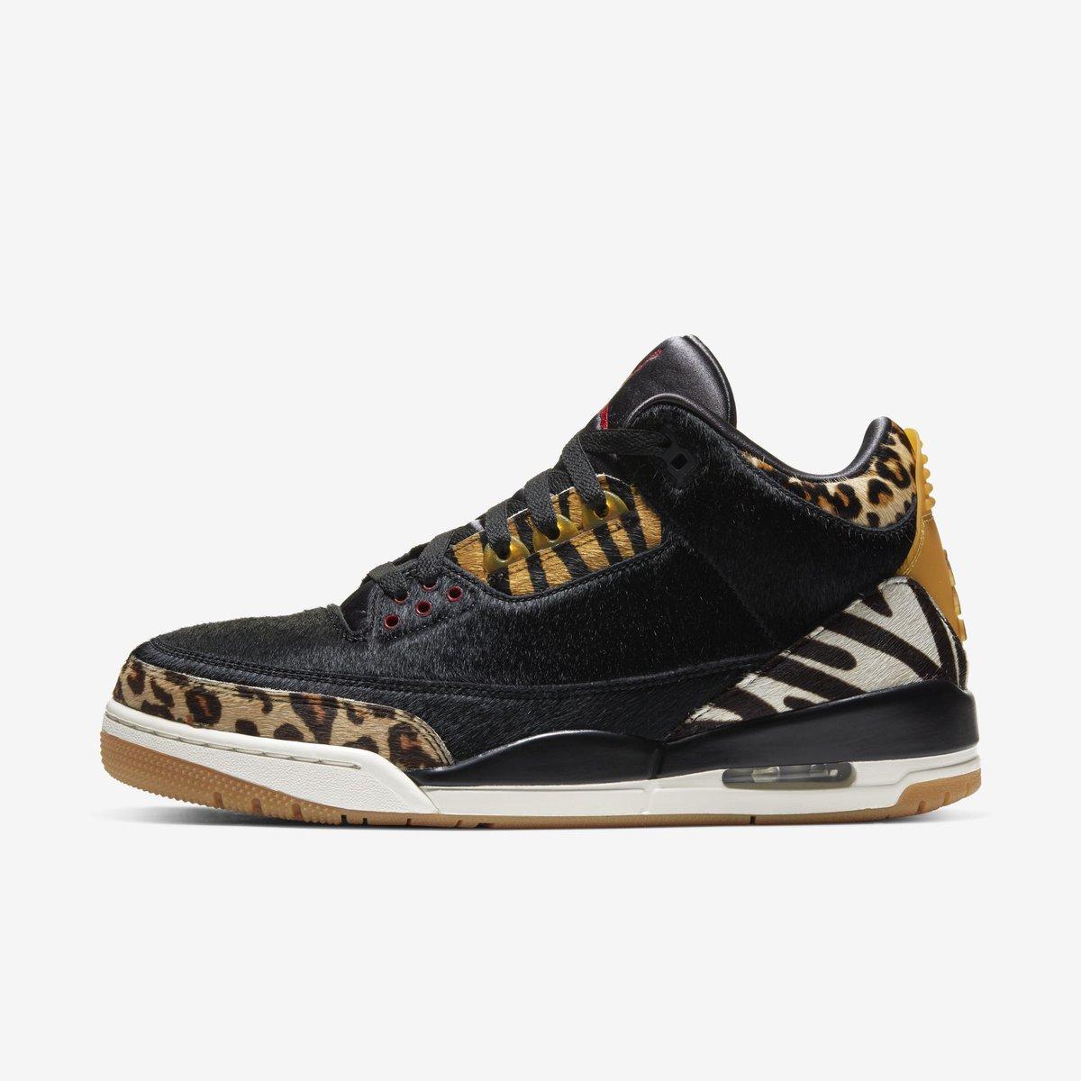 "SALE: Jordan 3 Retro ""Animal Instinct"" last sizes 10-11 only $179.97 (retail $225) on @nikestore. No code needed.  Link ->"