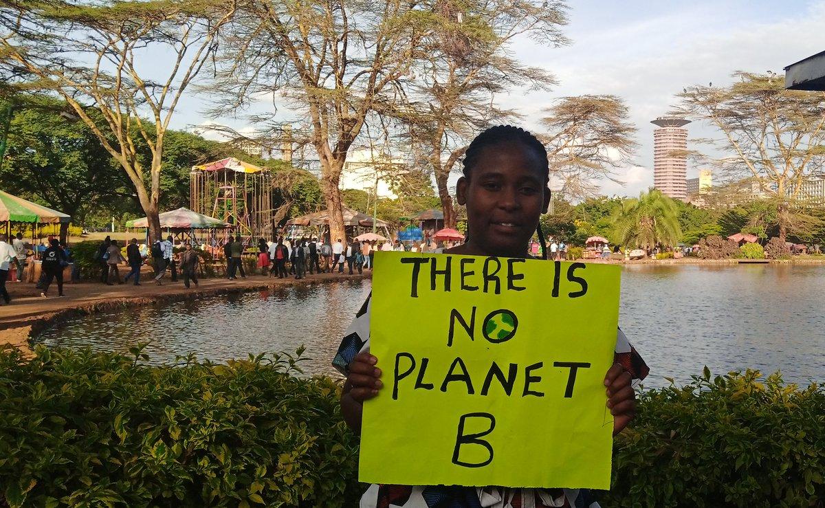 There is no planet B  we need   #ClimateAction  We are in #ClimateEmergency  Protect our future #ClimateCrisis  #ClimateStrike @lizwathuti @NamugerwaLeah @cookswelljikos @LicypriyaK @GretaThunberg @mulindwa_guy @vanessa_vash @KaoHua3 @_carbontiptoes @antonioguterres @guardian