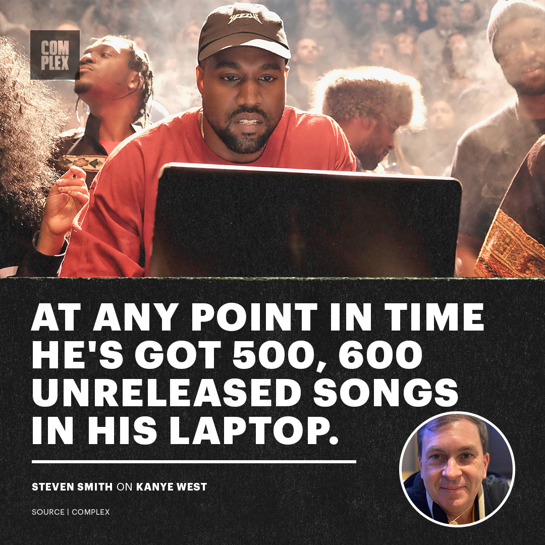 Kanye got a bunch of heat in the vault 👀  We linked up with legendary designer Steven Smith about what it's like working with Kanye West.  Stories, hidden gems, and more: