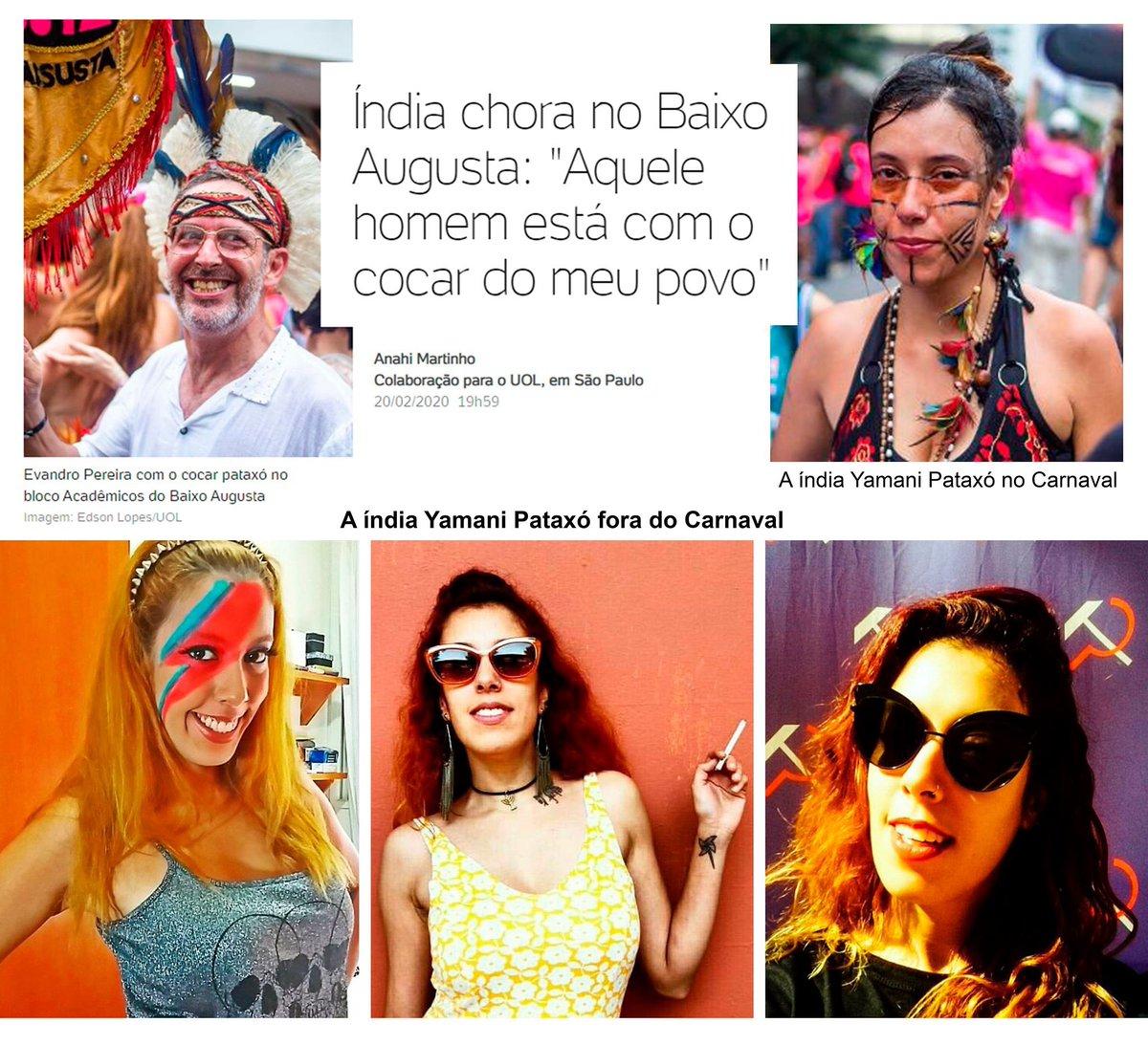 """Depois do """"diz leitor"""", o @UOLNoticias criou o """"diz índia"""" - como sabemos, são todos avatares da turminha lacradora da redação."""
