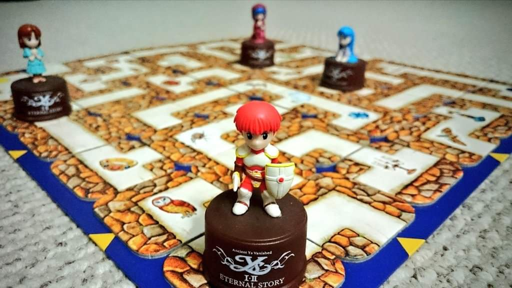 Board games are better with #Ys  @nihonfalcom #JRPG