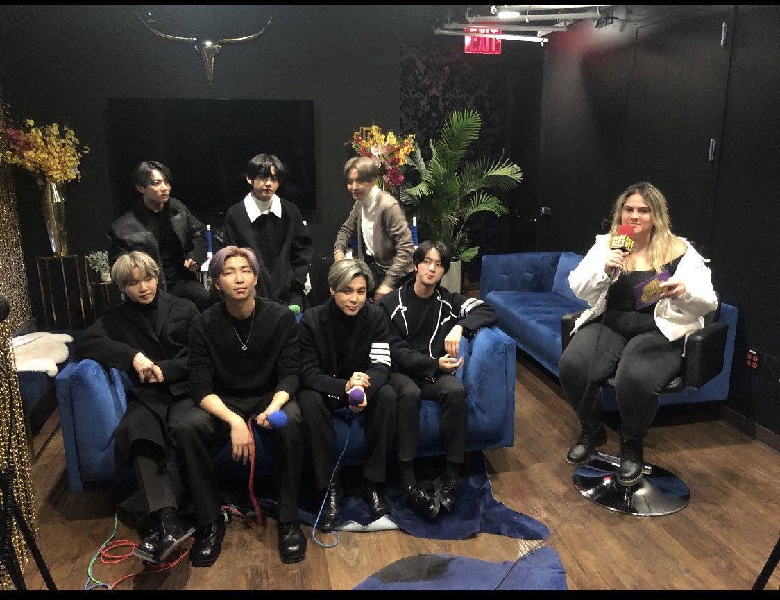These guys took over the world & I got to hang with them for a little bit today🌟 @BTS_twt @bts_bighit  #kpop #on #rapmonster #rm #bts #jiminbts #mapofthesoul #jimin #namjoon #hope #jungkook #suga #v #korea #koreanpop #junghoseok #taehyung #tae #jin #army #btsarmy #MAPOFTHESOUL7