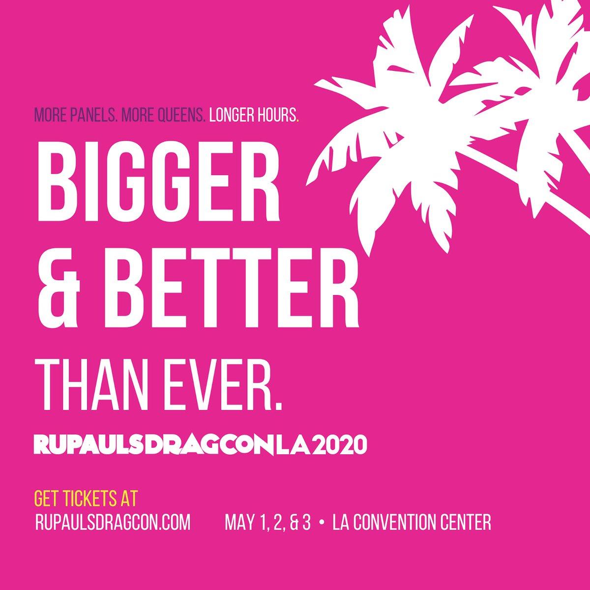I'll DJ the Main Stage at #DragConLA @rupaulsdragcon TIX: