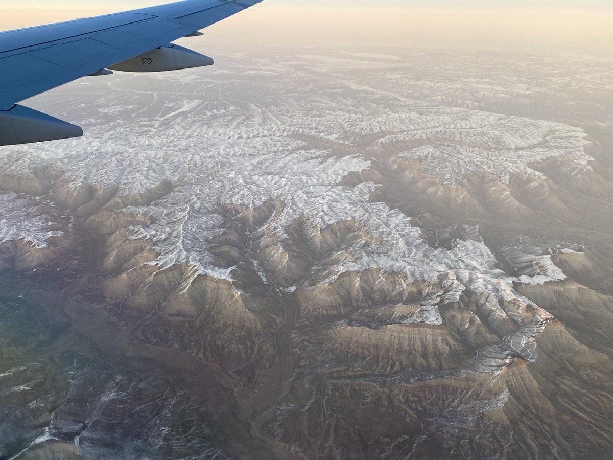 More #WindowSeat eye candy! Name that geomorph feature: