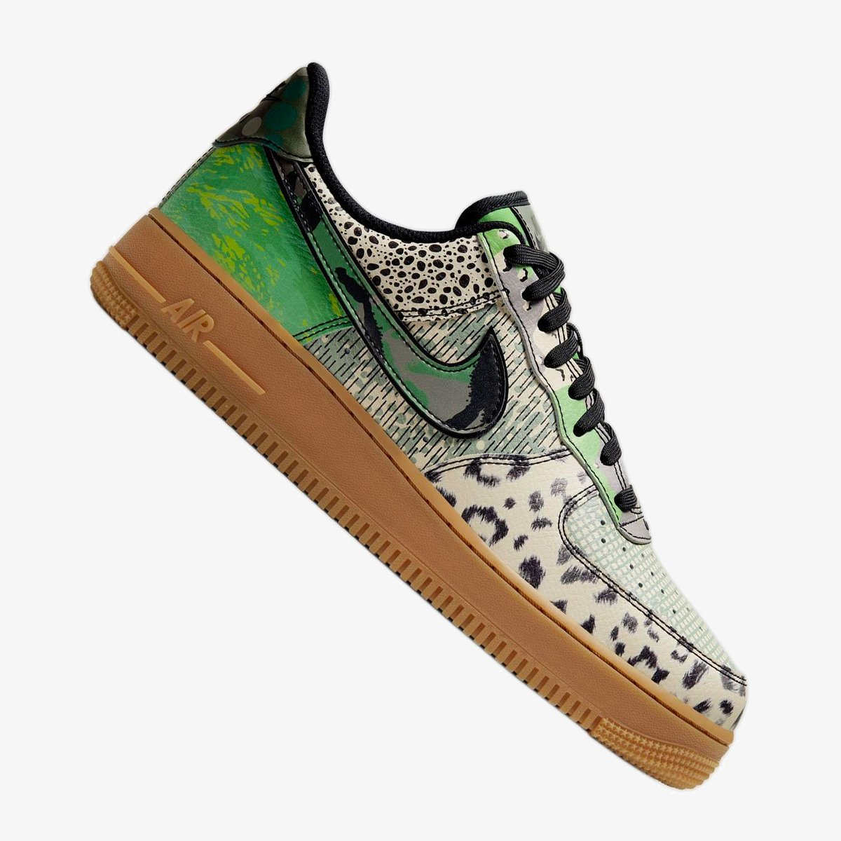 "Nike Air Force 1 ""City of Dreams"" Green Spark 10am ET  Mens DTLR ->  Hibbett ->  Nike ->   Toddler Nike ->"