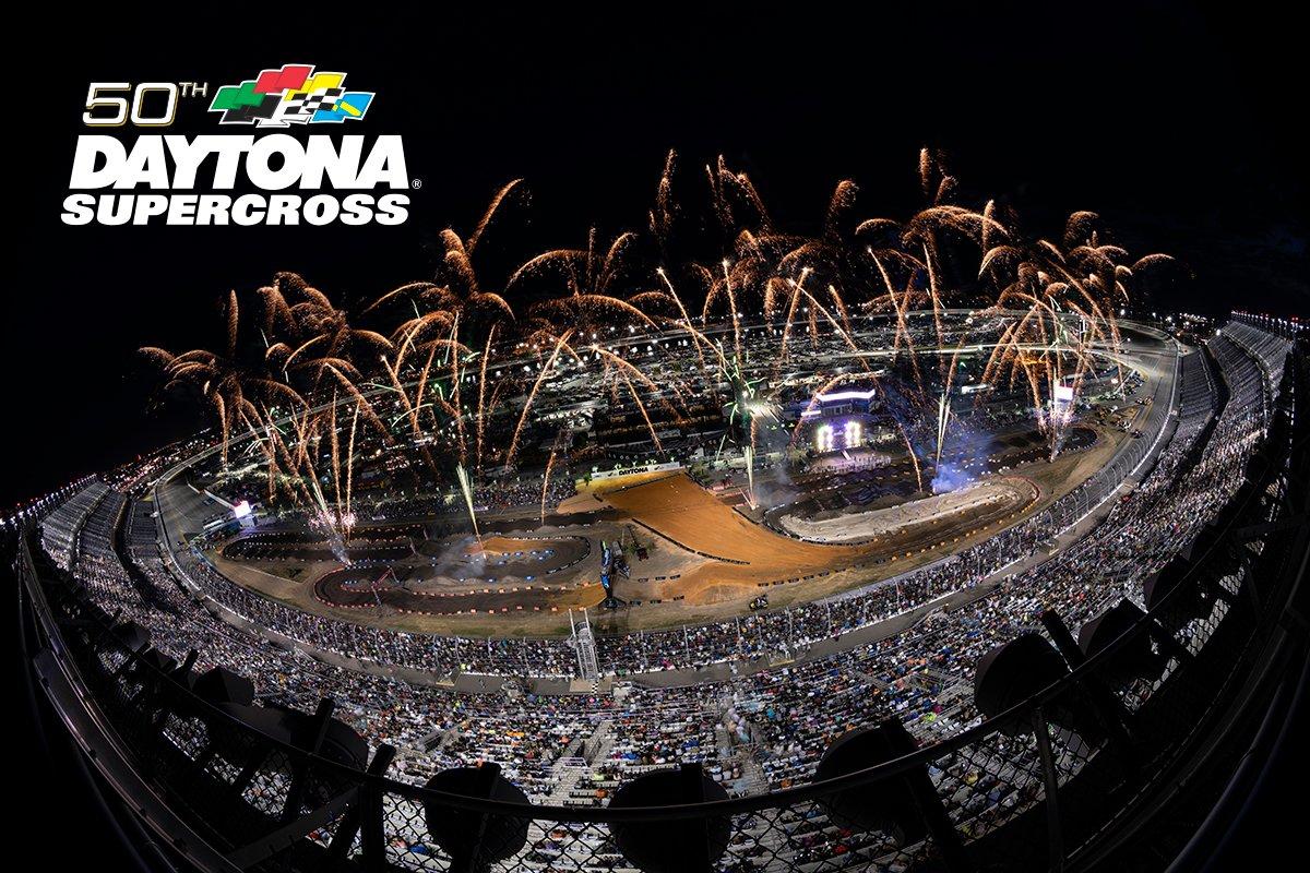 We're just 2 weeks away from the 50th DAYTONA Supercross!  #DAYTONASX