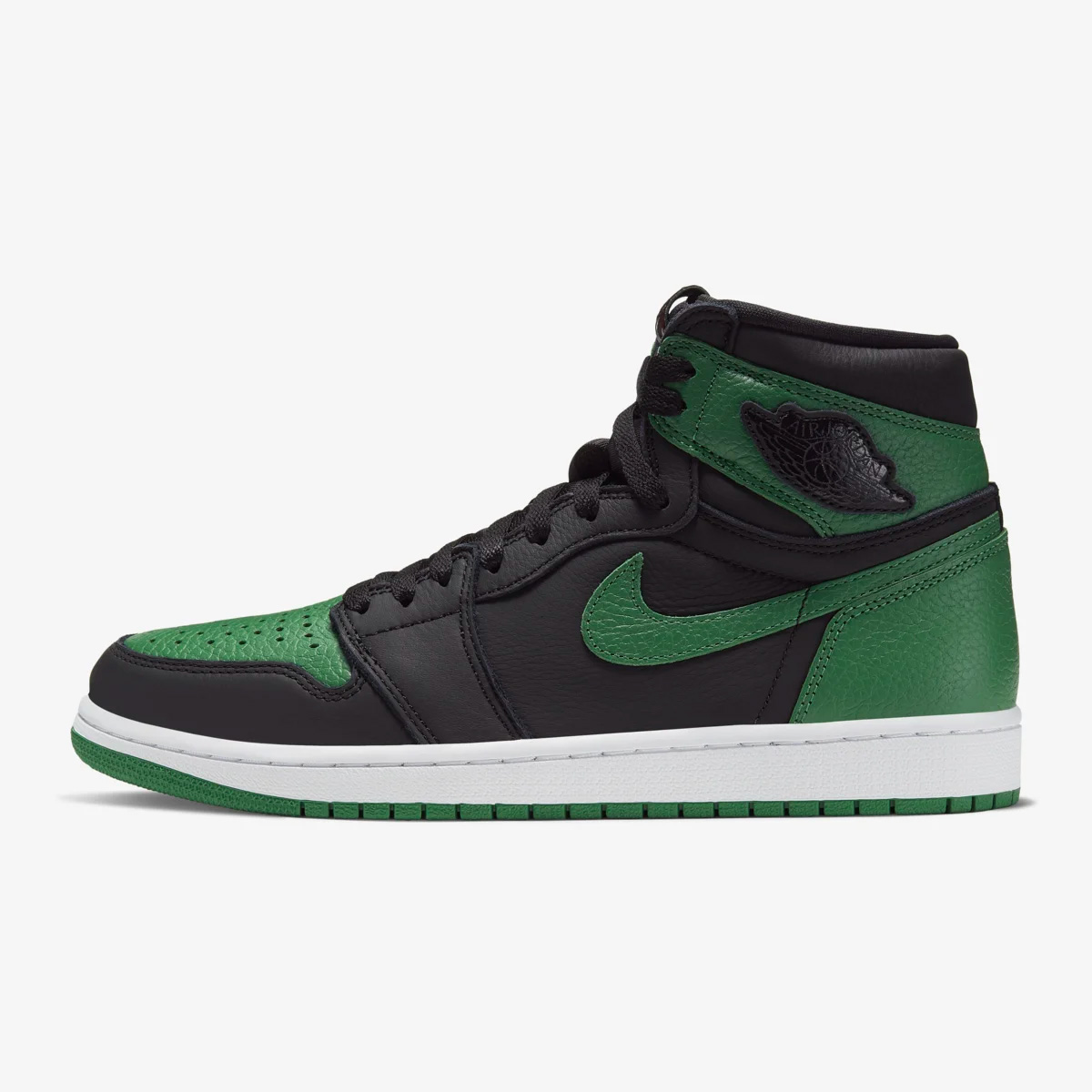 """Jordan 1 Retro High OG """"Black/Pine Green"""" official images  February 29th"""