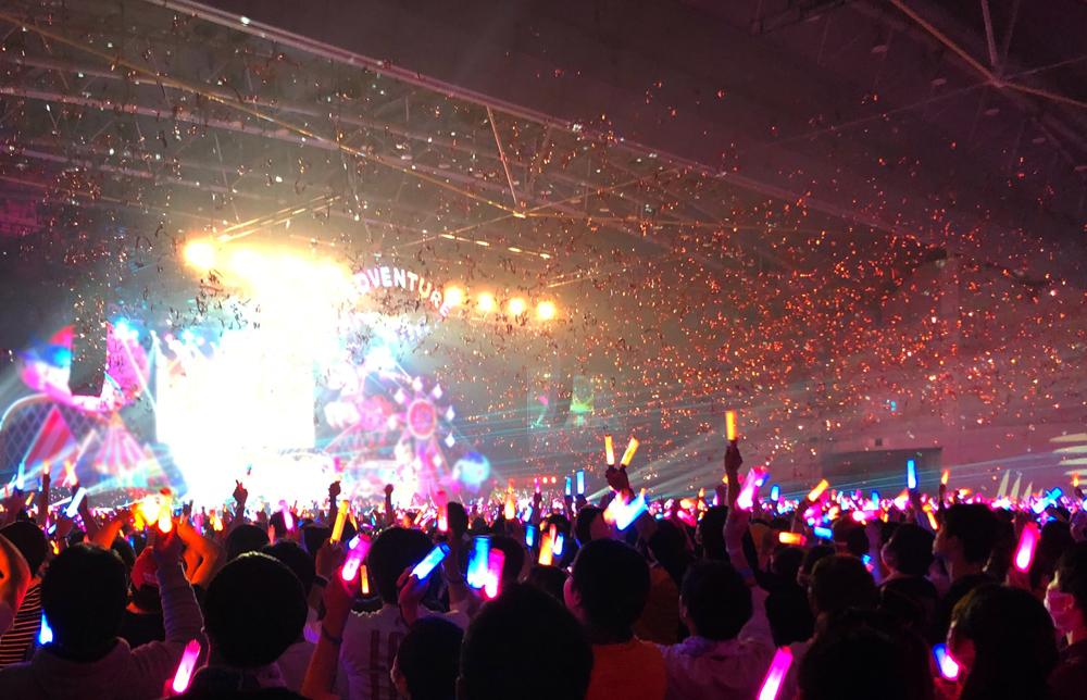 "【UNIT LIVE】 CYaRon! First LOVELIVE! Day.1、終了しました🎶 会場・LV劇場にご来場いただいた""しゃろとも""の皆さん、ありがとうございました💖 Day.2も元気全開で楽しみましょう🌞  #lovelive #UNITLIVEADVENTURE2020 #CYaRon"
