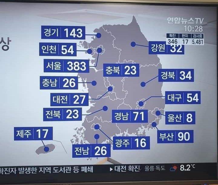 #upadate. Korea is having a BIG problem 😷 #coronavirus https://t.co/dkS8ypx0zW
