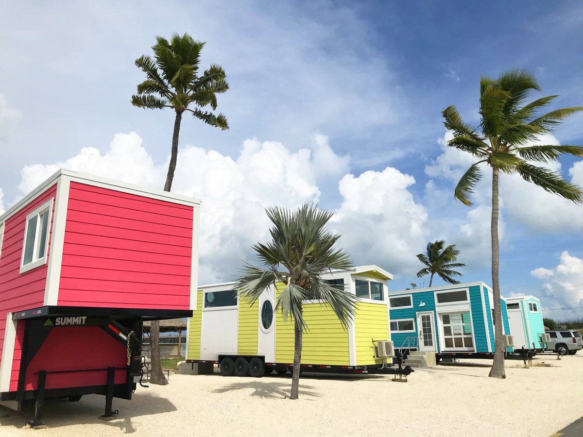 A new tiny house village just opened in the Florida Keys, so it's time to book a vacation: