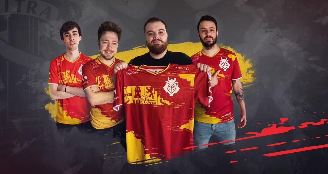 La gente de  G2 os quiere agradecer todo el apoyo con su camiseta oficial   Para participar:  -RT  -Seguid a @G2esports   SUERTE