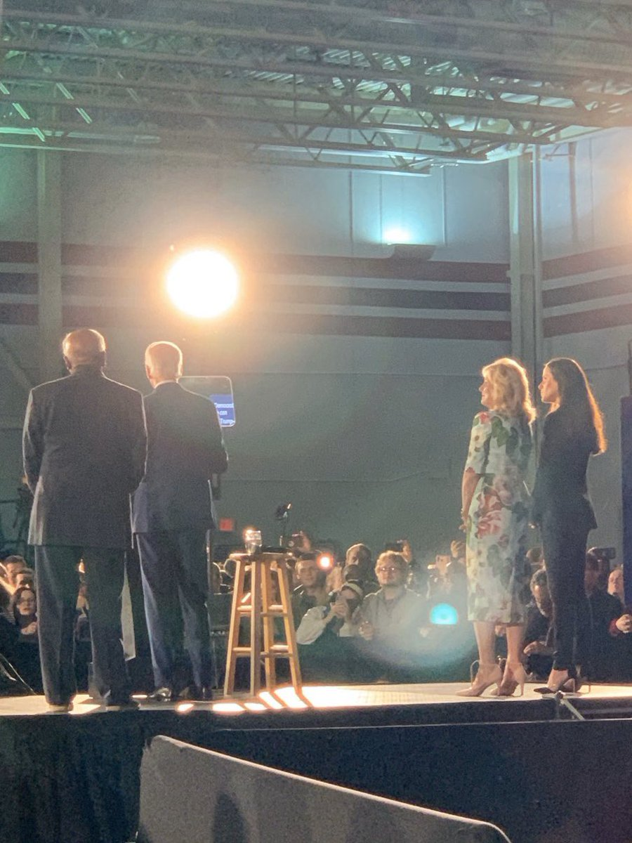 South Carolina, you've stood with us through the hardest of times, and tonight is a testament that there are better times ahead. From the bottom of our hearts, thank you.